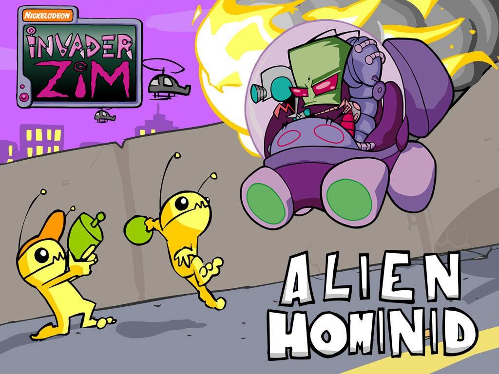 Hominid meets Zim 3 by TalesofZ