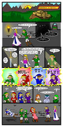 Ocarina of Time + Four Swords