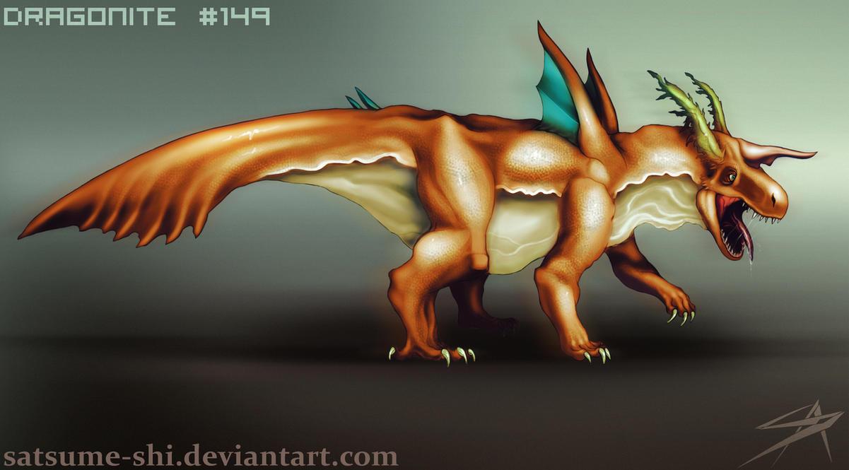 Dragonite by satsume-shi