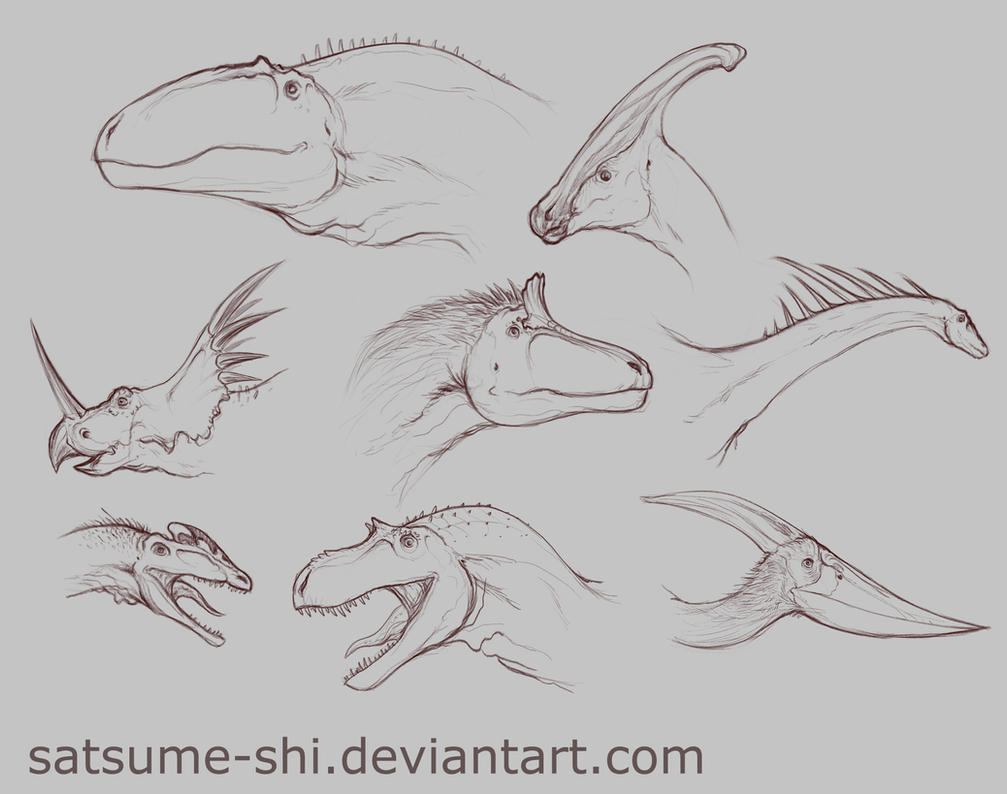 Concept [Dino-Heads2] by satsume-shi