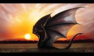 Tramonto del Drago