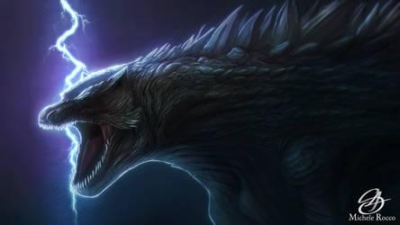 Godzilla by satsume-shi