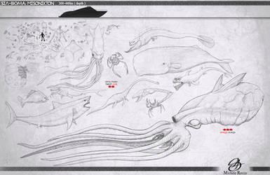 Sea-Bioma : Mesonekton by satsume-shi