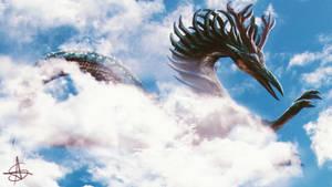 Sky Dragon by satsume-shi