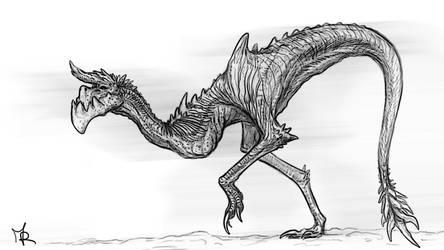 #5 Creature Sketch '20