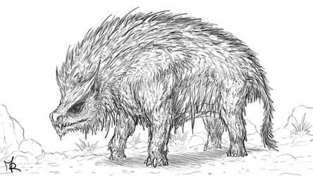 #6 Creature Sketch '20