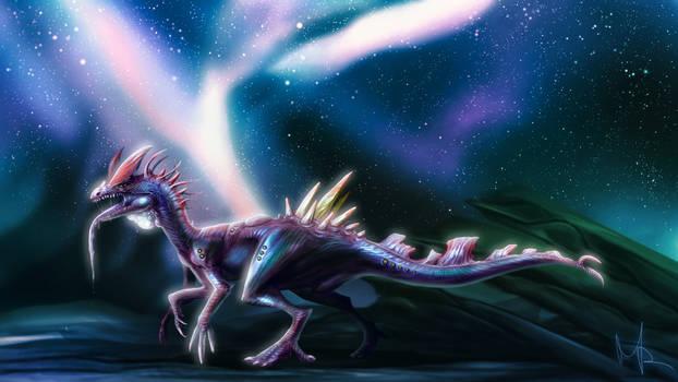 Alien Dilophosaur 2020