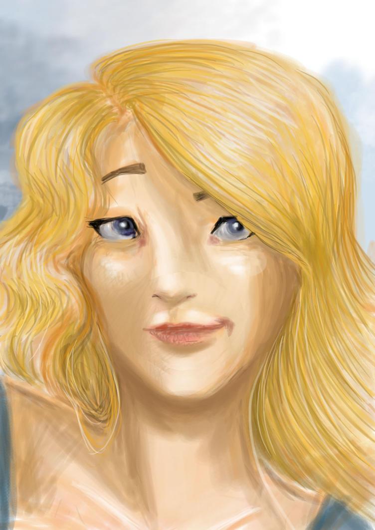 Odette's portrait by AalienoOr