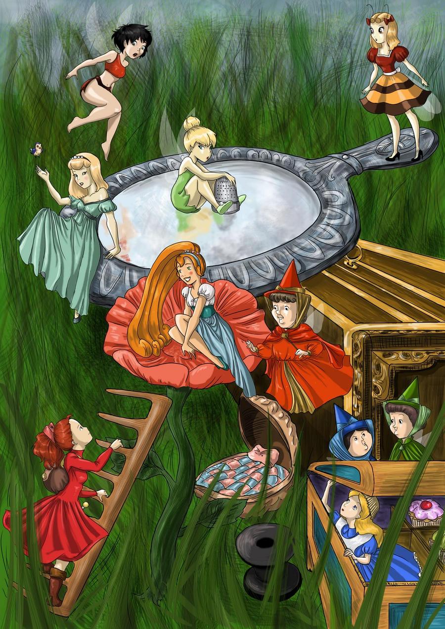Welcome Arrietty by AalienoOr