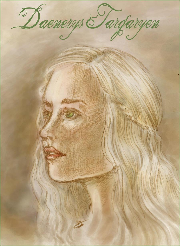 Daenerys Targaryen by AalienoOr on DeviantArt