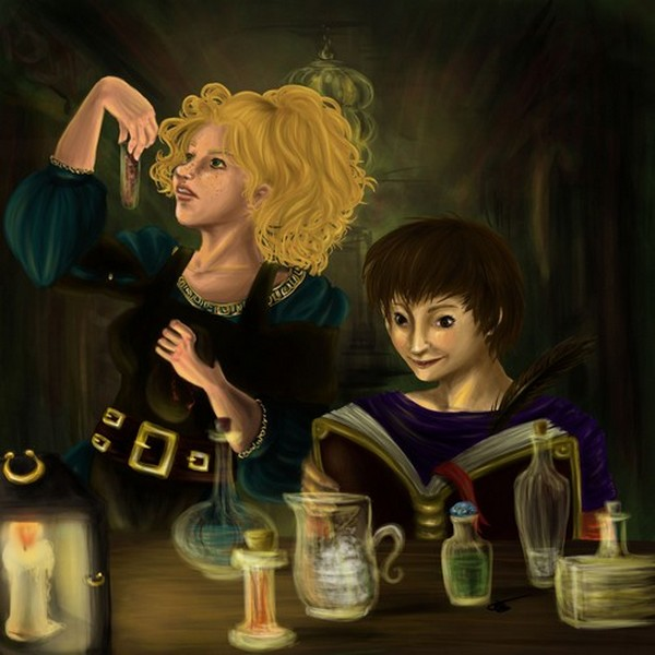 Hilde Quacksalber and Elke Klarer by AalienoOr
