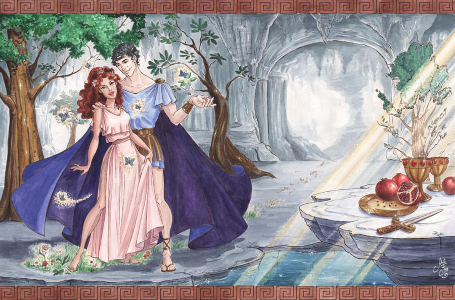 Hades And Persephone--Hades' Gift By ArtofMilica On DeviantArt