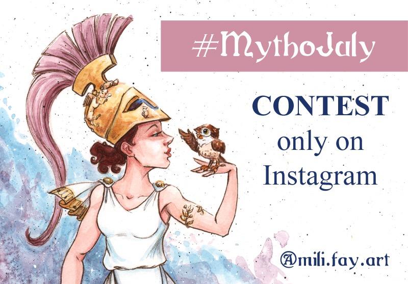 MythoJuly 2017 Contest!!! by artofMilica