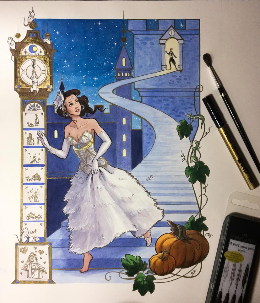 Cinderella by artofMilica