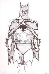 Batman - pencil and Ink