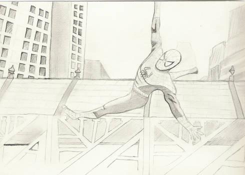 Who am I? .... I'm Spiderman