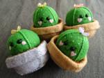 Cactus Pincushion/Ornament