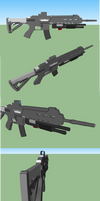 Bushmaster ACR with MasterKey by Atawai-Dragons