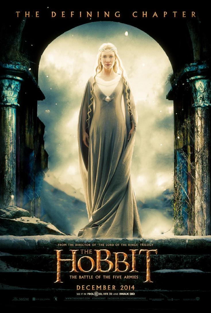 The Hobbit the battle ...