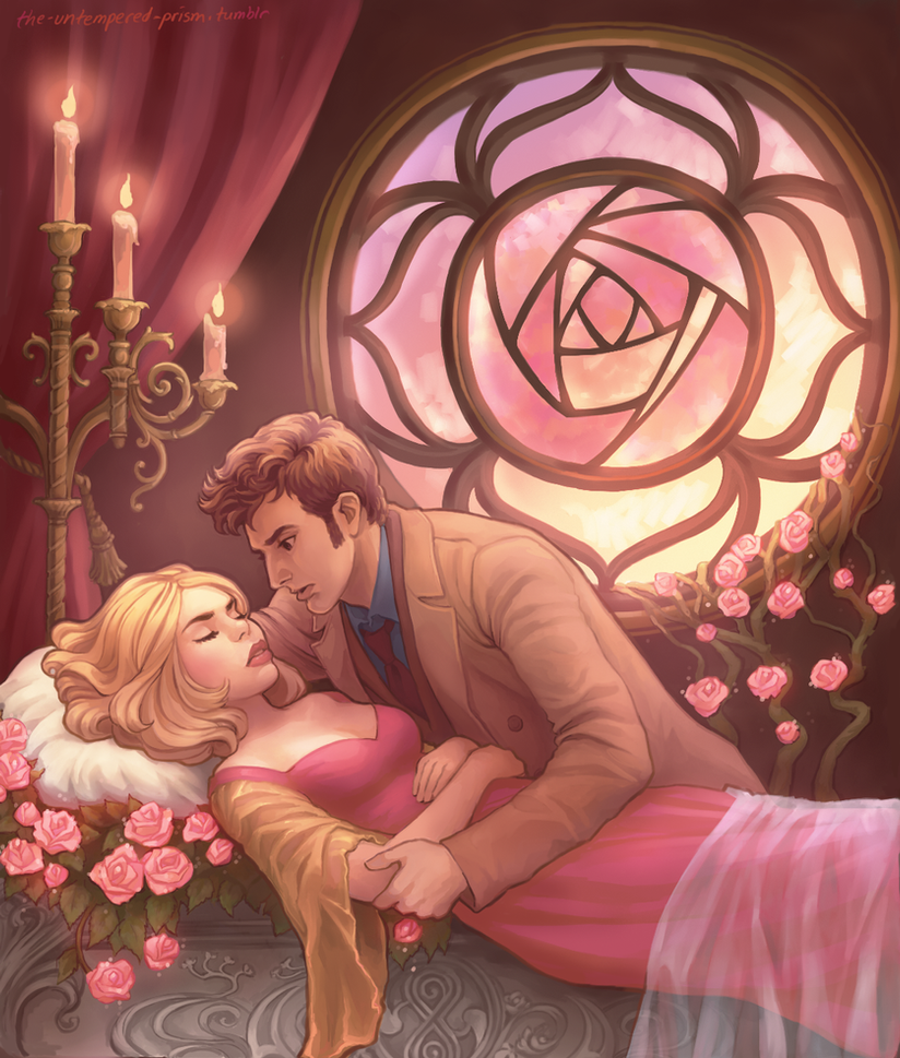 Briar Rose by the-untempered-prism