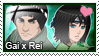 Stamp: Gai x Rei by LieutenantKer