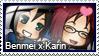Stamp : Benmei x Karin by LieutenantKer