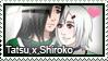 Stamp: Tatsu x Shiroko by LieutenantKer