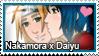 Stamp: Nakamora x Daiyu by LieutenantKer
