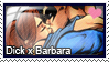 Stamp: Dick x Babs by LieutenantKer
