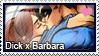 Stamp: Dick x Babs by LieutenantKer