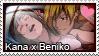 Stamp: Kana x Beniko by LieutenantKer