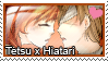 Stamp: Tetsu x Hiatari by LieutenantKer