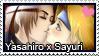 Stamp: Yasahiro x Sayuri by LieutenantKer