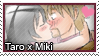 Stamp: Taro x Miki by LieutenantKer