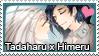 Stamp: Tadaharu x Himeru by LieutenantKer