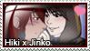 Stamp: Hiki x Jinko by LieutenantKer