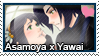 Stamp: Asamoya x Yawai by LieutenantKer