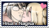 Stamp: Hisui x Nagisa by LieutenantKer