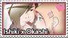Stamp: Ishiki x Okashi by LieutenantKer