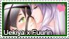 Stamp: Uekiya x Fuurin by LieutenantKer