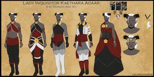 Character Sheet: Kaethara Adaar