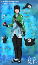Pokemon Trainer Ker - Indigo League