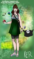 Pokemon Trainer Ker - Alolan Island Challenge