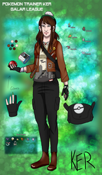 Pokemon Trainer Ker - Galar League