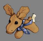 Bruce the Moose by NovaBytes