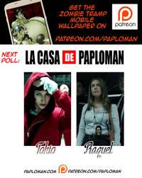Patreon Poll #2: Tokio VS Raquel by paploman