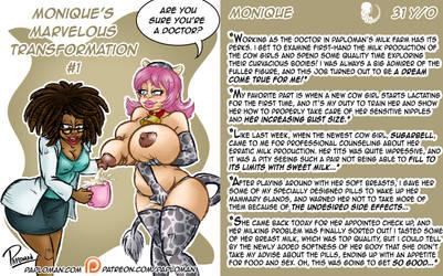 Monique's Marvelous Transformation #1 by paploman