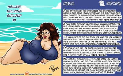 Helia's Hulking BuildUp #1 by paploman