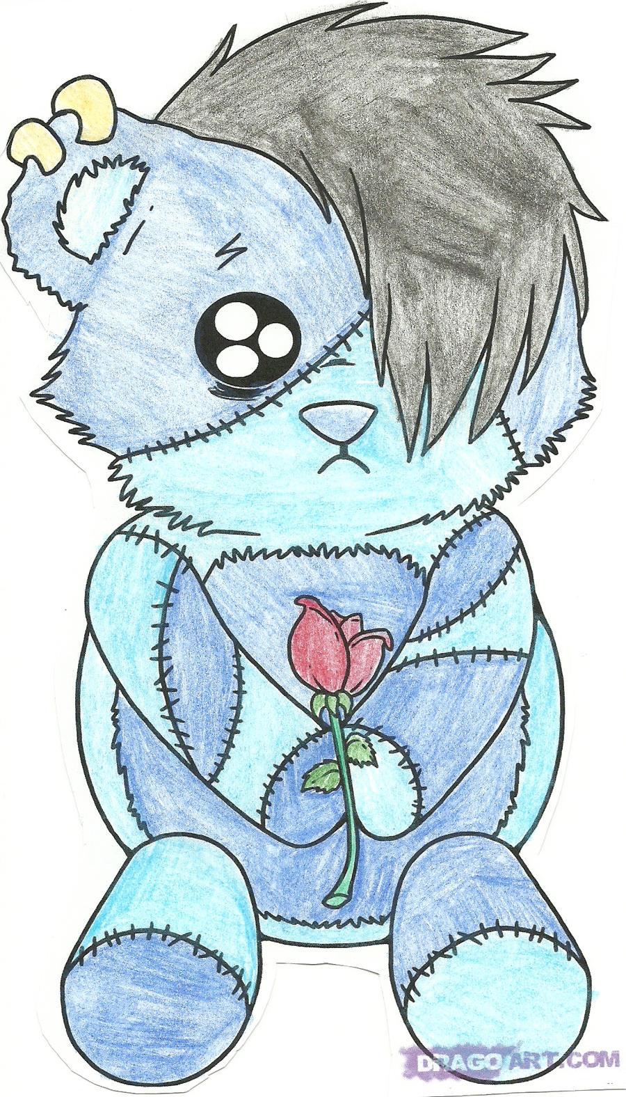 Emo Teddy Bear