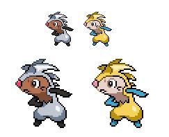 Pokemon Jolt Version - Edgehog by joltzen